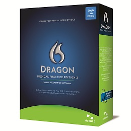 Dragon Medical, Voice recogntion software